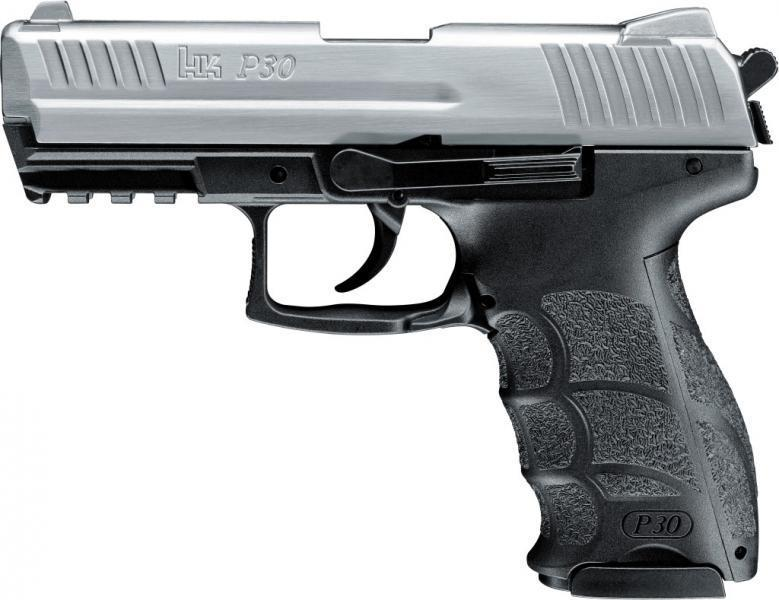 Heckler & Koch P30 cal. 9 mm P.A.K. Steel Finish