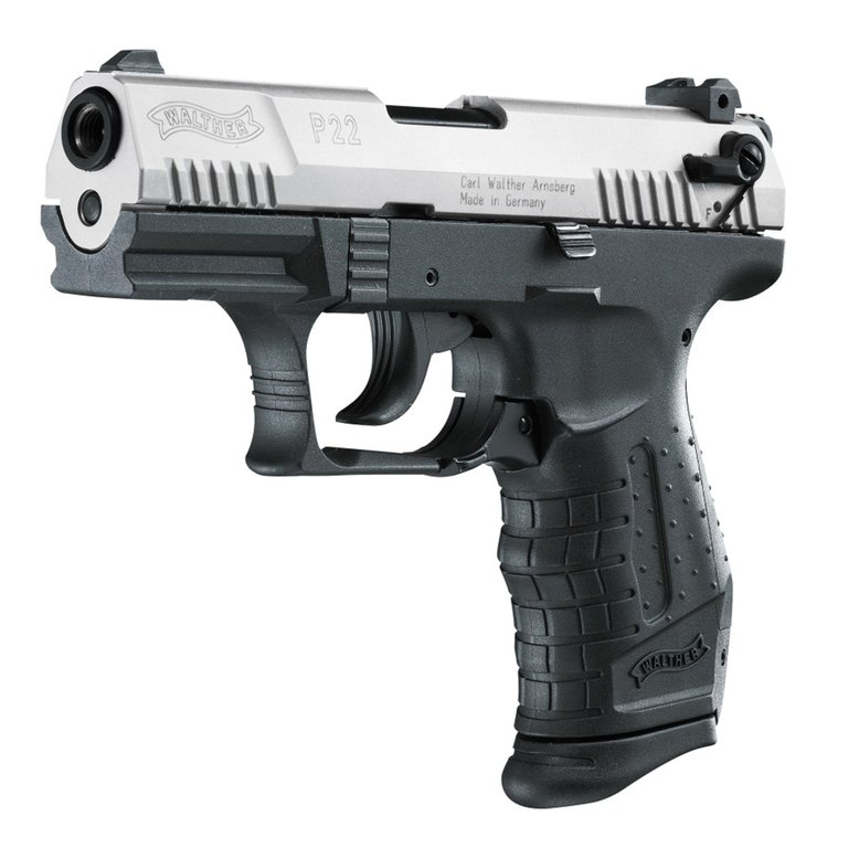 Walther P22 cal. 9 mm P.A.K., bicolor