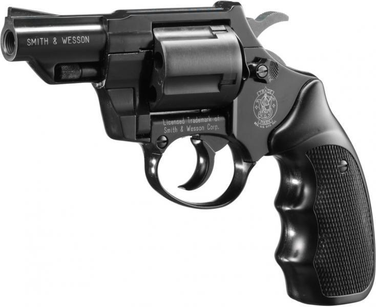 Smith & Wesson Combat cal. 9 mm R.K., brüniert