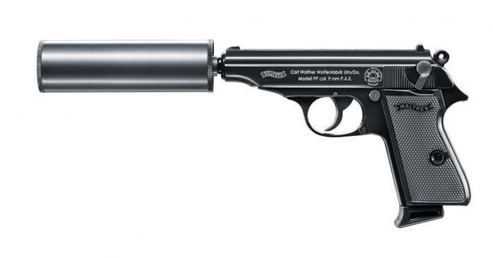 Walther PP MIS EDITION cal. 9 mm P.A.K.